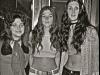 1973 ENGLAND TRIP SUZI, NANCY, PATTI